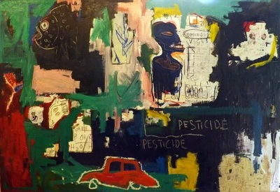 Pesticide - Mixed media on canvas - 110h x 158w cm