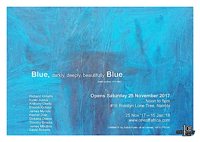 'Blue' at One Off Art Gallery