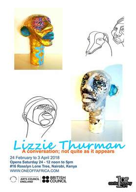Lizzie Thurman Exhibition Invitation