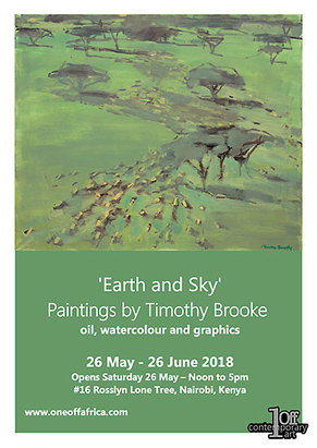 Timothy Brooke Exhibition Invitation