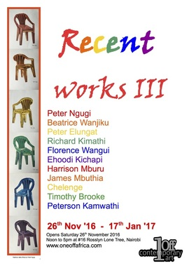 Peterson Kamwathi Exhibition 2016
